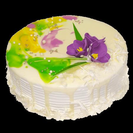 торт Весенние краски