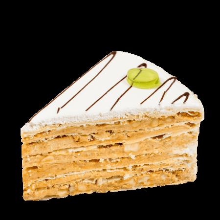 Торт Жозефина с фундуком кусочек